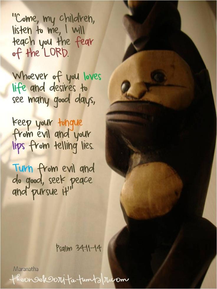 Psalm 3411-14 -5717