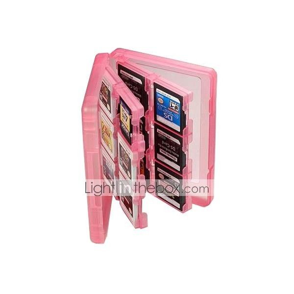 28-in-1 Game Memory Card Case Cover Holder Cartridge Storage for Nintendo 3DS/3DSLL - USD $ 4.99