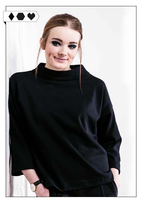 Sweater IO (Jan n June): 100% Organic Cotton Sweat. Fair hergestellt in Polen…
