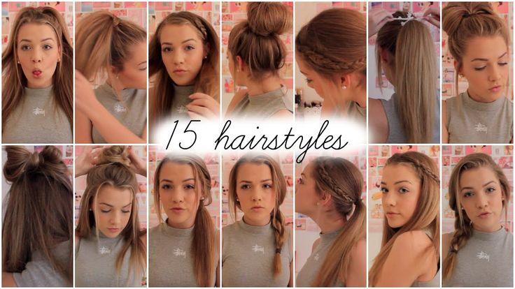 15 heatless hairstyles    Lilyellaburt ♡