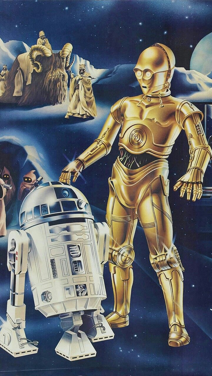 Star Wars C3po And R2d2 Star Wars Collectors Star Wars 1977