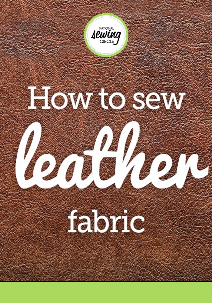 Sewing with leather takes some special consideration. Real leather is created from the skin of animals – primarily cattle – though other animals are sometimes used including goat or sheep, or even exotic animals like ostrich and alligator. There are also very nice and realistic faux leathers available that are great to sew with, though real leather often has that supple and luxurious feel most people strive for, not to mention the smell!