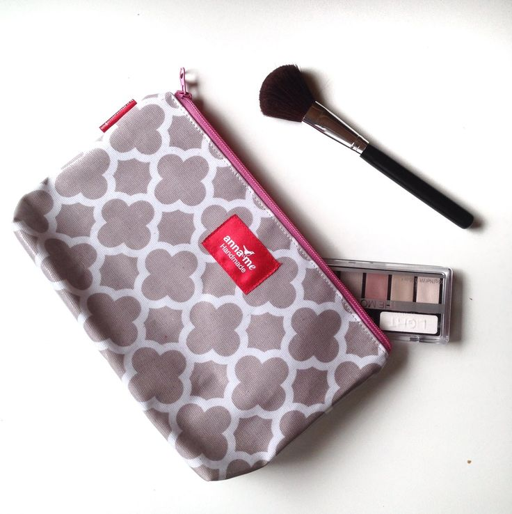 Make-up Bag - The Official Anna Me Handmade Online Shop - Creative Accessories Made Beautifully. Browse our collection and buy directly from the site. Retailers welcome! #makeup #cosmetics #travel #bag