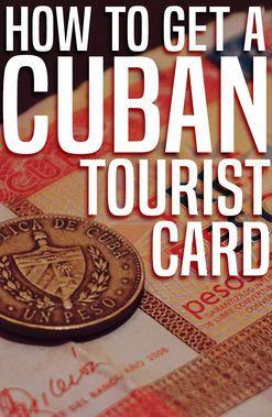 ViaHero   How To Get A Cuban Tourist Card