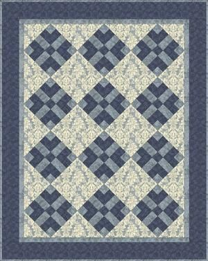 Stitch a Baby Quilt for That Special Little One: Got Blues Baby Quilt