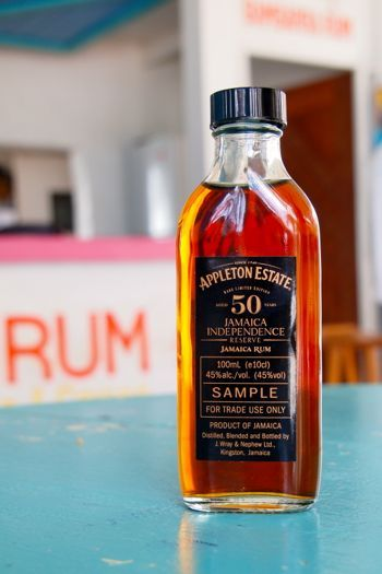 Appleton Estate 50 Year Old Jamaica Independence Reserve - $5,000