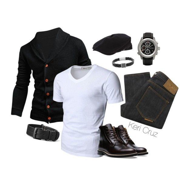 Men's Fashion by keri-cruz on Polyvore featuring Swarovski, Doublju, Natural Selection and Giorgio Armani