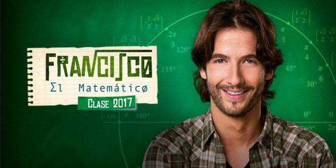 'Francisco El Matemático' Clase 2017 se estrena en el Canal RCN
