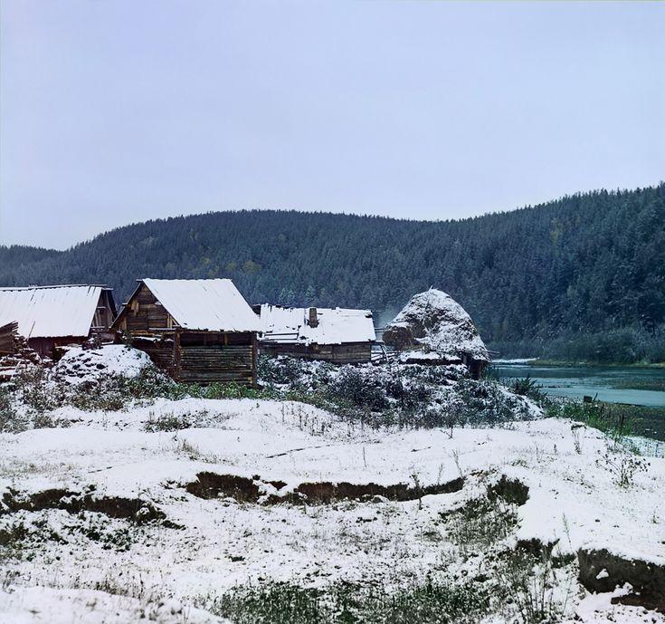 Близ станции Вязовая Самаро-Златоустовской железной дороги. 12-го Сентября 1909 г.