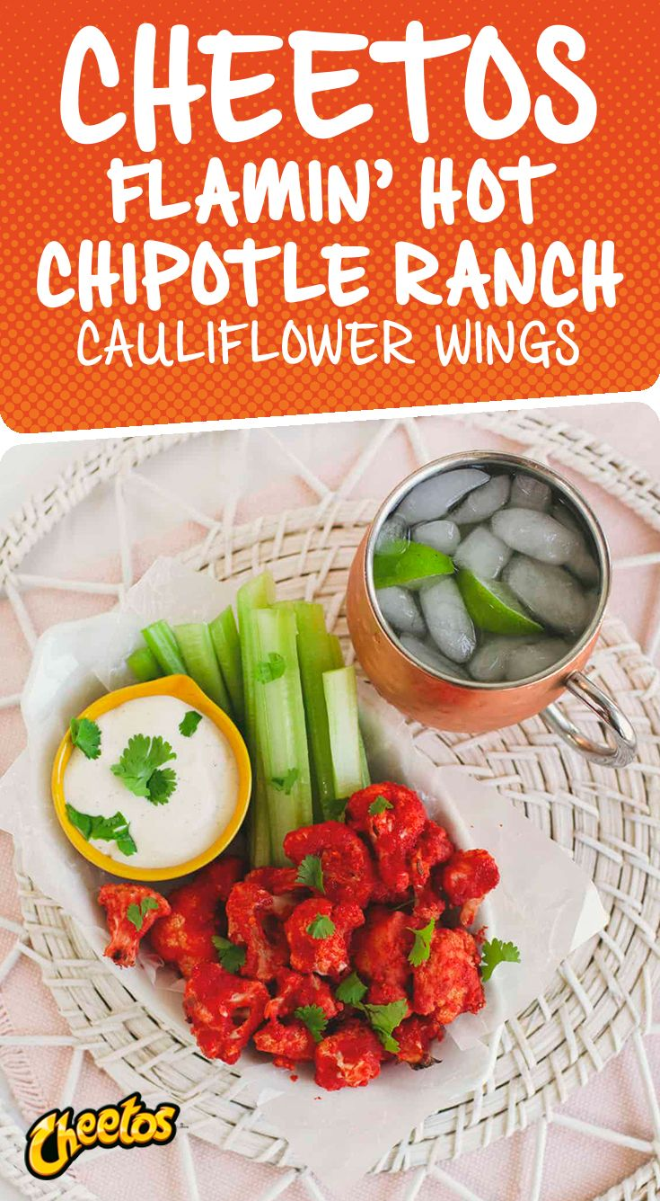 Flamin Hot Cauliflower Wings A Beautiful Mess Healthy Superbowl Snacks Healthy Recipes Cheep Healthy Meals