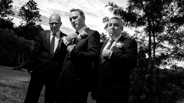 Groom & Groomsmen  Salt Studios  Toowoomba Wedding and Commercial Photography