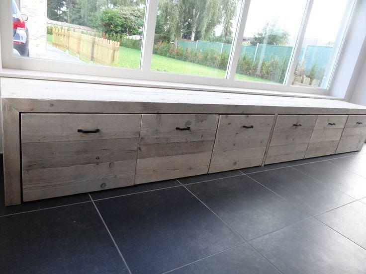 Afbeeldingsresultaat voor houten vensterbank