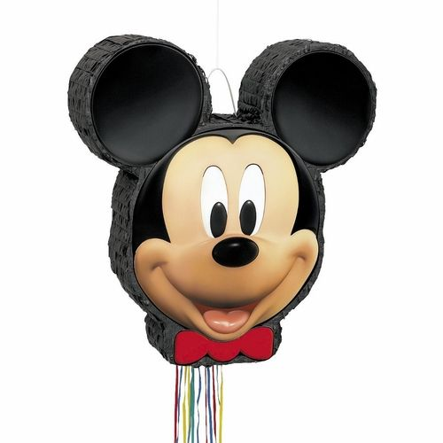 "Have a hot dog day with this great Mickey Mouse Clubhouse Pull Pinata. Disney's Mickey Mouse Clubhouse is a children's favorite and will be a very popular birthday party theme this year. This great new pattern will surely be a hit with all of the kid's and the parents will all have great stories about their ""fun times"" watching the Mickey Mouse Clubhouse television show over and over again. For a great party idea plan a scavenger hunt and use 4 mouseketools to help the kids find some fun…"