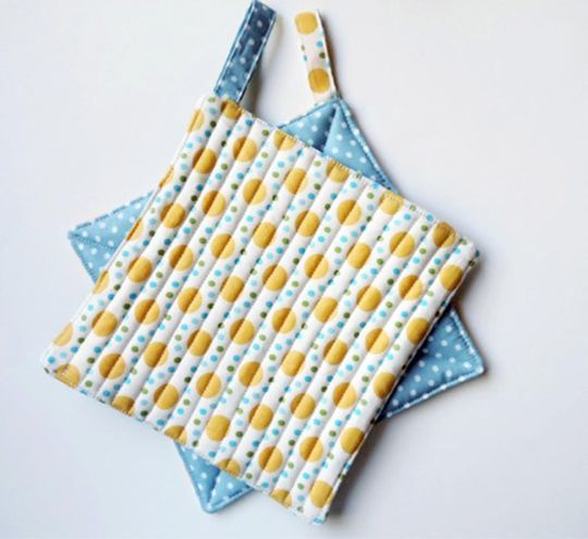 I am Kate Colleran and my book with C&T Publishing Smash Your Precut Stash!  ... share with you a quick and easy potholder pattern.