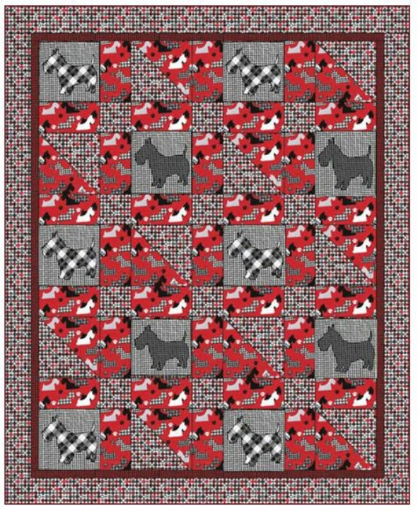 Quilt Pattern For Scottie Dog : 1000+ images about Scottie dog quilts on Pinterest Dog baby, Scottie dogs and Scottish terriers