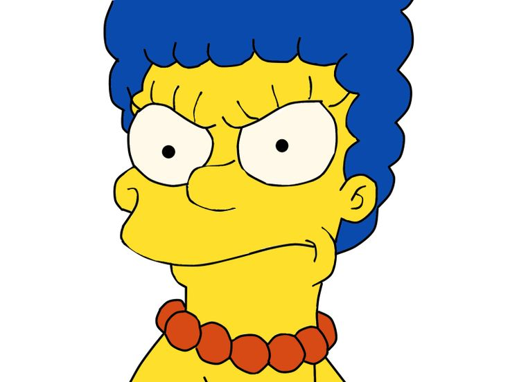 Marge annoyed by oddworld inhabitant on deviantart - Marge simpson et bart ...
