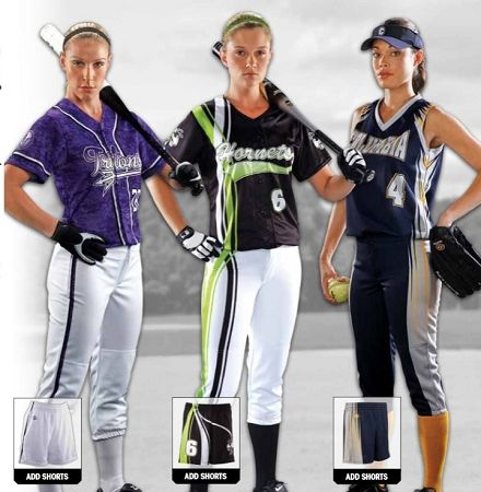 Softball Uniforms - Custom Proshere Softball Uniforms