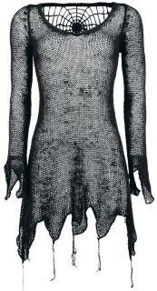 Queen Of Darkness Gothic Spider Dress