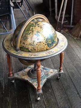 Grote wereldbol/bar globe/drankenbol/drank kabinet