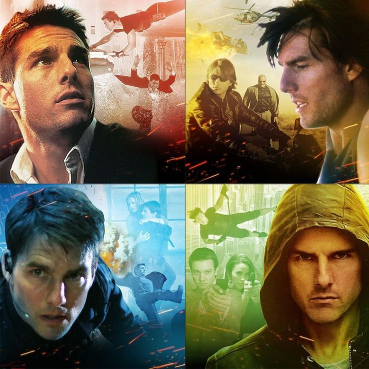 Mission Impossible: Ethan Hunt through the years.