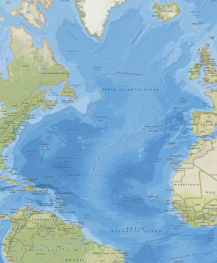 Oceano Atlântico Norte