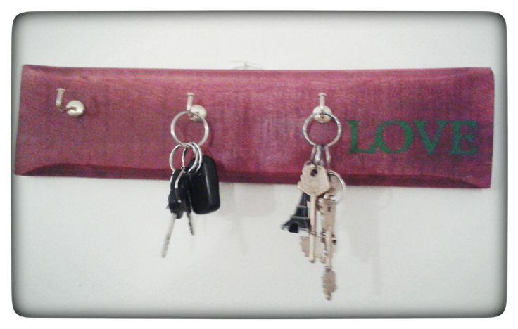 #llaves #love #reciclado #pallet