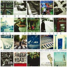 Al+Di+Meola+All+Your+Life+Tribute+To+The+Beatles+2LP+Vinil+180+Gramas+45rpm+DMM+Edição+Limitada+2013+EU+-+Vinyl+Gourmet