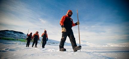 NZDF personnel in Antartica