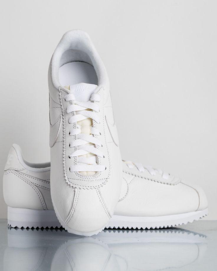 Nike Classic Cortez Leather Blanc Prem - Manifest