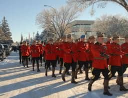 RCMP MARCH IN FULL DRESS