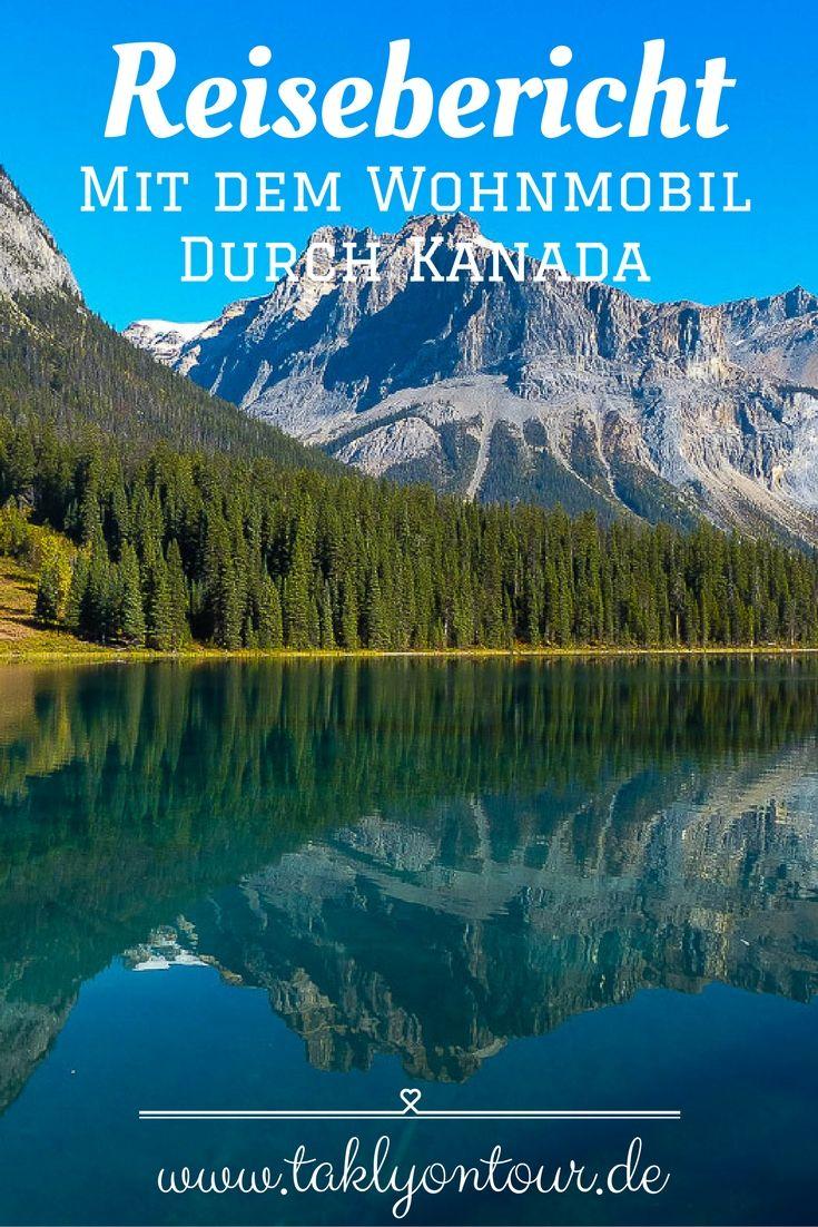 www.taklyontour.de Ein ausführlicher #Reisebericht von #Kanada. Wir haben zwei Wochen lang den Westen von Kanada mit einem #Wohnmobil erkundet. Ein toller #Campingtrip durch #BritishColumbia und #Alberta. Lass dich verzaubern: