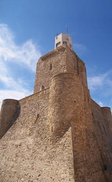 Il castello svevo di Termoli, Campobasso, Italy