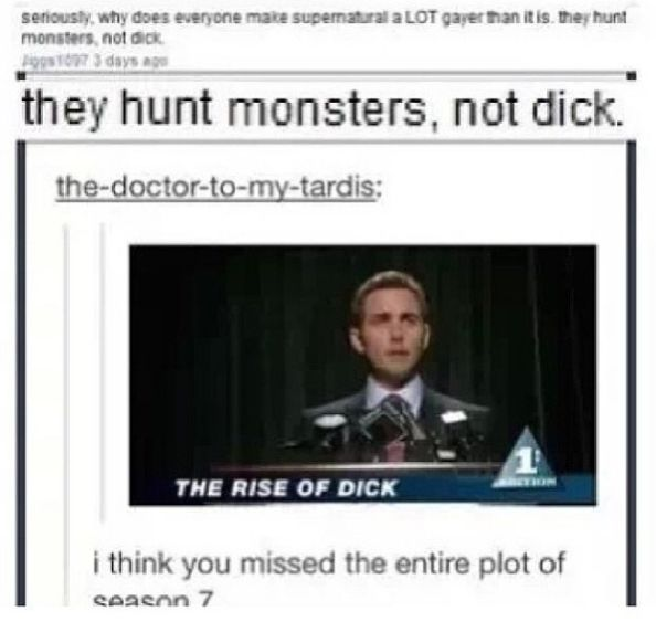 The Supernatural Side of Tumblr part 3 - Imgur