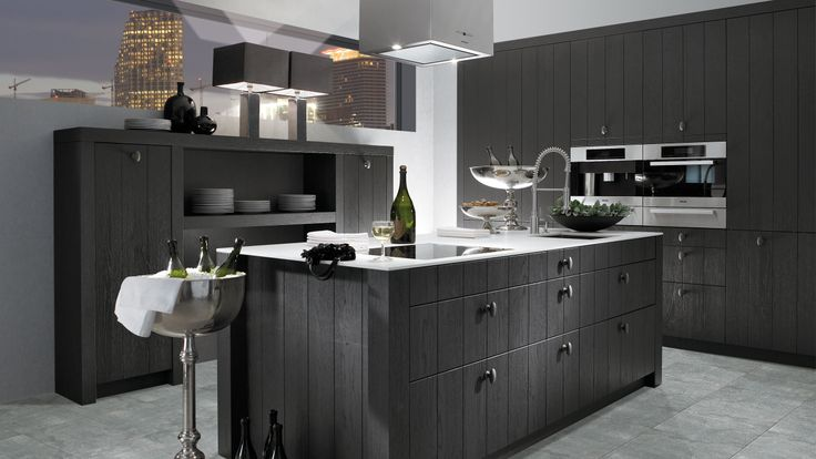 11 best cuisine design cuisine deco images on pinterest custom kitchens lyon and deco. Black Bedroom Furniture Sets. Home Design Ideas