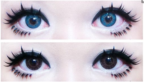 GEO Sparkling Blue cosmetic color circle lens. http://www.eyecandys.com/lens/geo-sparkling-blue/