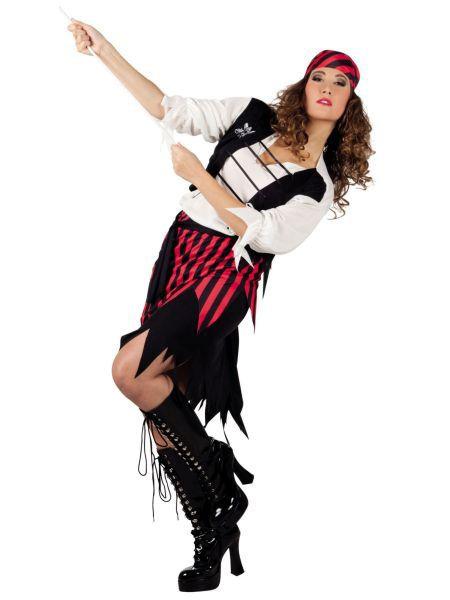 """https://11ter11ter.de/40221109.html Piratenkostüm """"Suzy"""" für Frauen #Karneval #Fasching #Mottoparty #11ter11ter #Outfit #Kostüm #Partnerkostüm #Twins #Pirat"""
