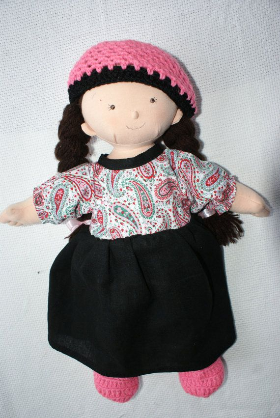 A pinkish outfit for your 16 Waldorf doll by Kookla by KooklaStyle, $120.00