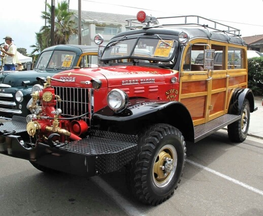 Dodge Power Wagon Woodie