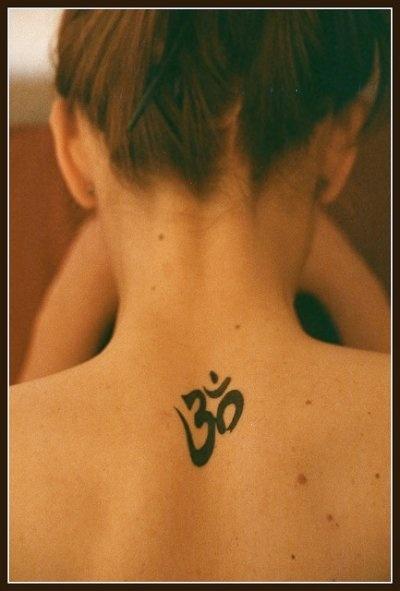 Aum Tattoo Photo