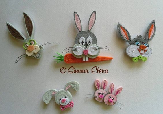 Quilling  ......Tiere