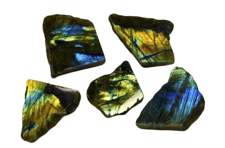 1 pc Natural Polished Labradorite Stone Slab from Madagascar (Shipping to US only). 1 pc Natural Polished Labradorite Stone Slab from Madagascar FOR USA ONLY   - Average weight of 175-350 carats each pc.  Product Description   The Polished Labradorite Slabs you are ordering are spectacular high energy stones from a specific mine in Madagascar. We only receive material from a specific area of the mine that produces a superior grade of labradorite containing a large amount of schiller which…