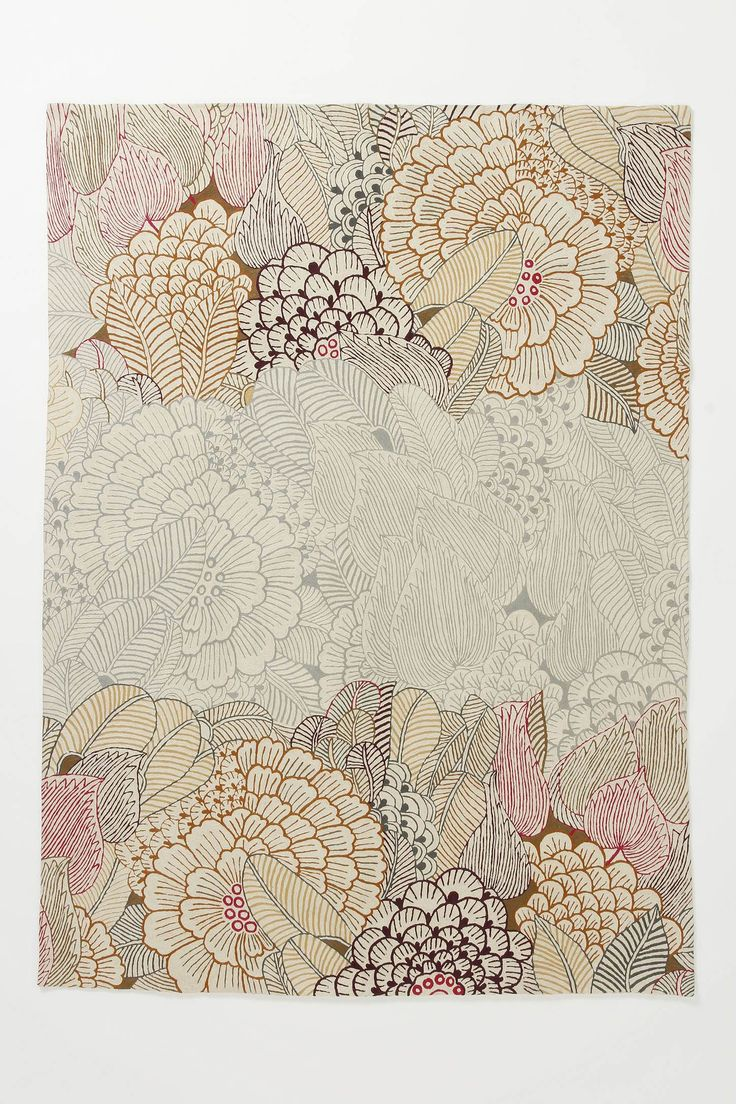 mutabilis rug: Bedrooms Rugs, Mutabili Rugs, Wall Art, Anthropology Rugs, Idea, Floral Patterns, Floral Rugs, Flowers Prints, Anthropologie Com