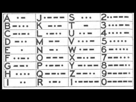 ALFABETO MORSE MUSICAL PRA YOUTUBE YouTube Coding