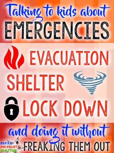 Here's a step-by-step guide of how this music teacher talks to his students about emergency situations and drills.