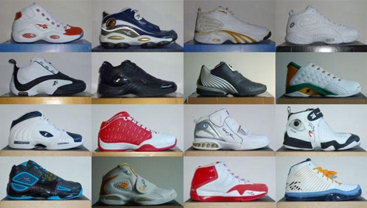 History Allen Iverson Reebok Signature Sneaker Line | Solecollector