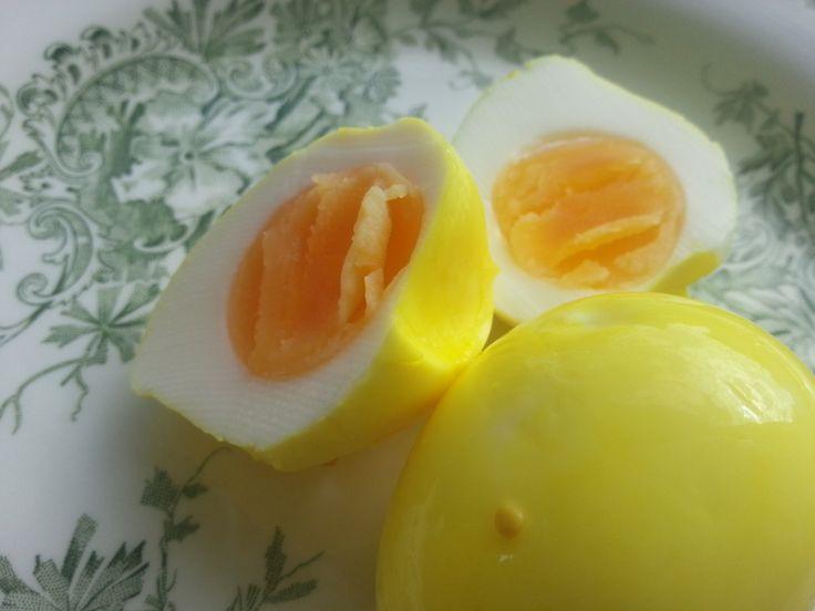 Inlagda ägg till påsk, jul eller den goda helgfrukosten.