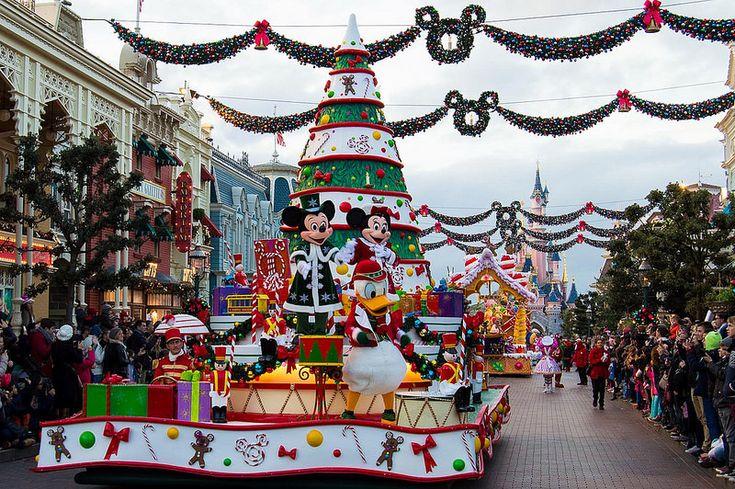 Disneyland Paris Christmas Celebration Parade