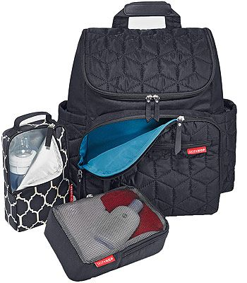 skip hop forma backpack diaper bag black a well bags and diaper bags. Black Bedroom Furniture Sets. Home Design Ideas
