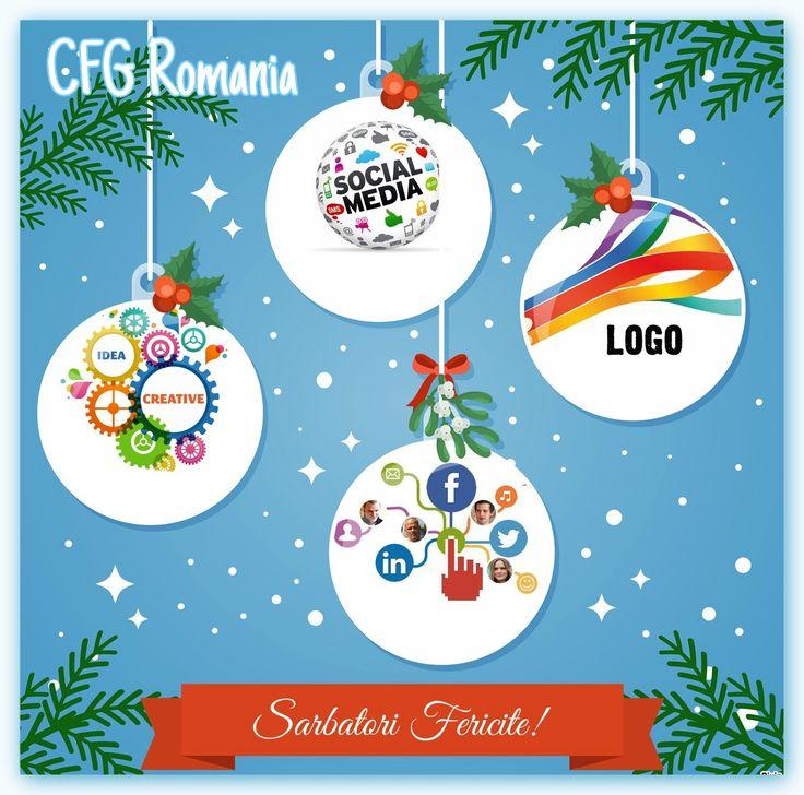 Echipa CFG Romania va ureaza Sarbatori Fericite! www.exporeduceri.ro #webdesign #promovare #clipvideo