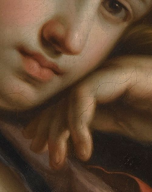 Guercino (1591–1666)The Persian Sibyl (Detail)Oil on canvas, 1647-48